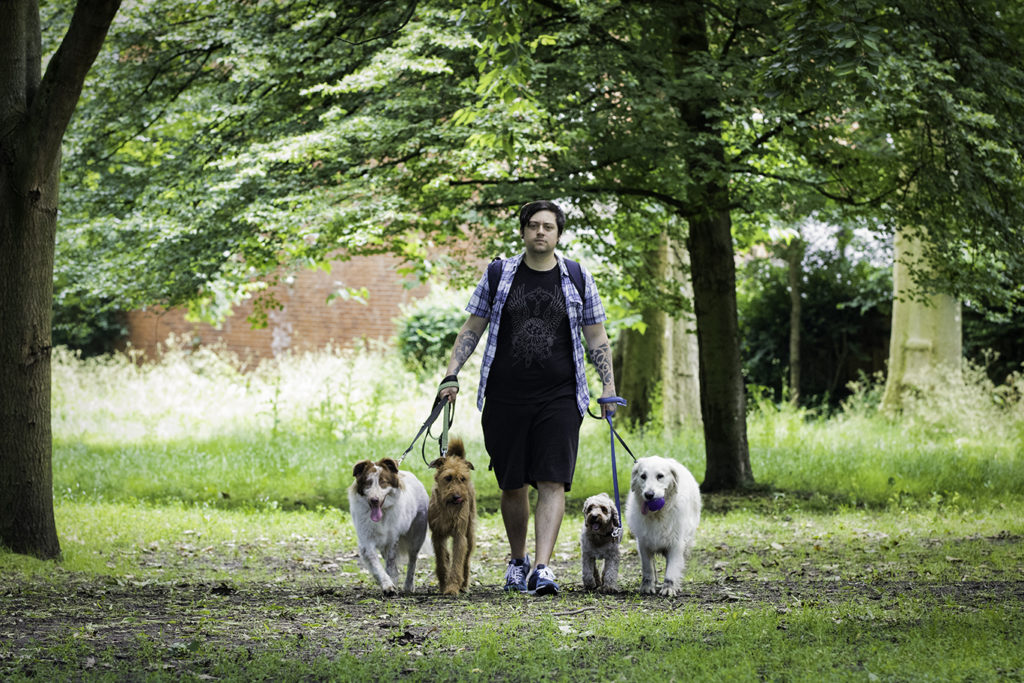 Dog walker Islington